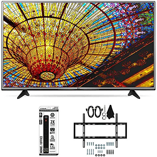 LG-49UH6030-49-Inch-4K-UHD-Smart-LED-TV-w-webOS-30-Flat-Wall-Mount-Bundle-includes-TV-Slim-Flat-Wall-Mount-Ultimate-Kit-and-6-Outlet-Power-Strip-with-Dual-USB-Ports