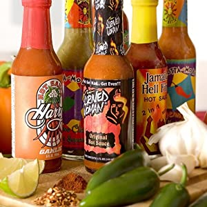 Gourmet Hot Sauce of the Month Club - 6 Months with Free Shipping by Amazing Clubs