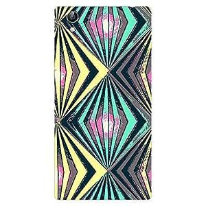Garmor Designer Silicone Back Cover For VIVO Y51L