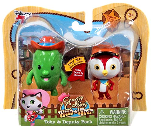 "Disney Junior Sheriff Callie's Wild West Toby & Deputy Peck 2.5"" Action Figure 2-Pack"