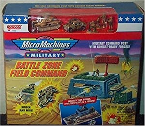 Battle Zone Field Command Military Micro Machines Playset