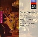 Schubert : Oeuvres pour violon et pia...