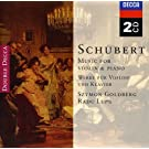 Schubert : Oeuvres pour violon et piano - Sonate