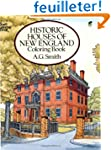 HISTORIC HOUSES OF NEW ENGLAND. Color...