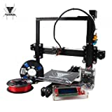 TEVO Tarantula i3 DIY 3D Printer Kit Black (Micro SD Card and 2 Roll Sample PLA Filament As Gift) Pint Size 200X200X200mm