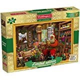 Waddingtons Santa's Workshop Limited Edition Christmas Jigsaw Puzzle (1000 Pieces)