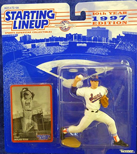 1997 Nolan Ryan MLB Collectors Club Starting Lineup Special Edition Figure