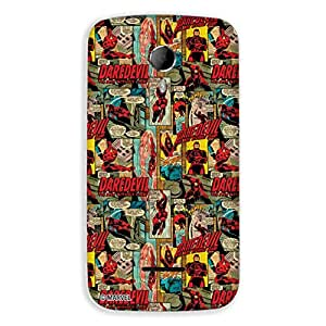Marvel Civil War PBMARCOMMA11708 Daredevil Back Cover for Micromax Canvas Magnus A117 (Multicolor)