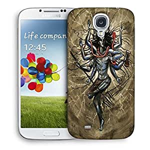Snoogg Shiva Tandava Designer Protective Back Case Cover For Samsung Galaxy S4