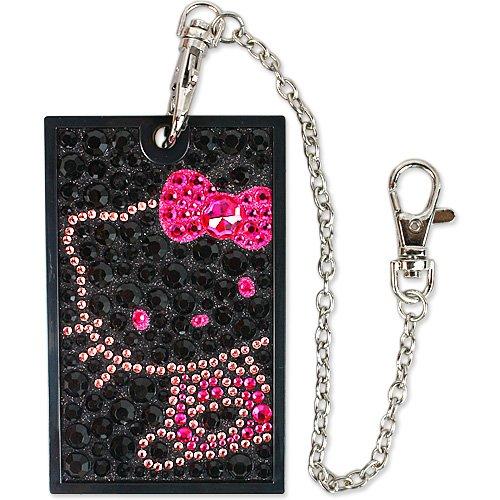 [Hello Kitty] jewelry IC card case black