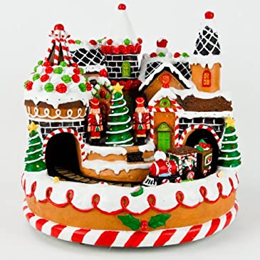 Gingerbread Candy Village & Train