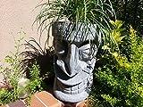 Happy Tiki Planter (Grey Granite)