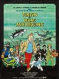Tintin Et Le Lac Aux Requins reproduction photo affiche du film 40 x 30 cm...