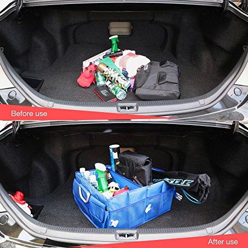 aomaso auto trunk organizer coffre organisateur nylon repliables conception d aluminium pour. Black Bedroom Furniture Sets. Home Design Ideas