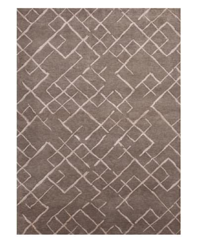 Jaipur Rugs Hand-Knotted Geometric Pattern Rug