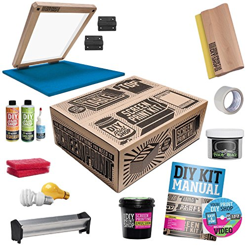 DIY PRINT SHOP Classic Table Top Screen Printing Kit (Tabletop Screen Printing Press compare prices)