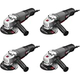 PORTER-CABLE Angle Grinder Tool, 4-1/2-Inch, 7-Amp (PC60TPAG) (Pack of 4) (Tamaño: Pack of 4)