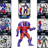 "Marvel Legends Series Captain America Red Onslaught BAF- Set of seven 6"" Action Figures"