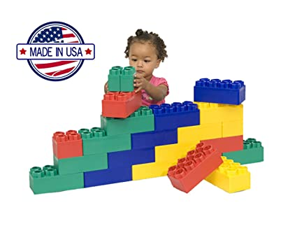 Buy Kids Adventure Beginner Jumbo Block Set (24 Pieces) Online at ...