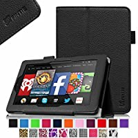 Fintie Fire HD 7 Case - [Honey Comb Series] Light Weight [Anti Slip] Shock Proof Silicone Protective Case Cover [Kids Friendly] for Amazon Fire HD 7(2014) 4th Gen by Fintie