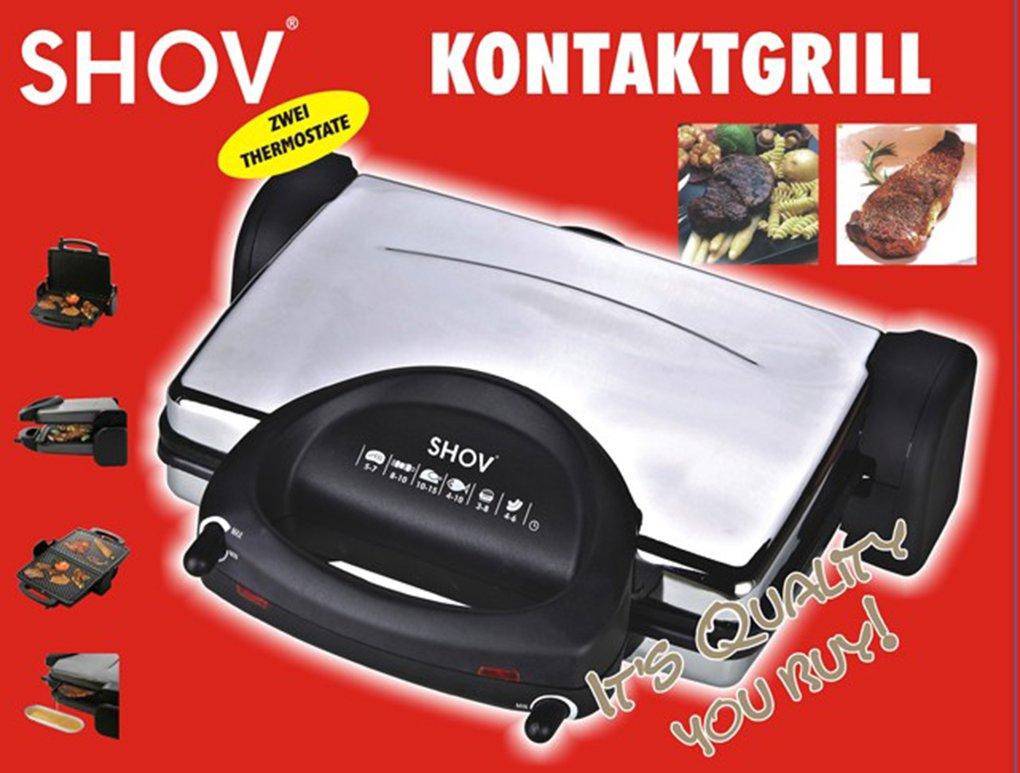 KONTAKTGRILL GRILL 3 IN 1 TOAST Chrom Optik online kaufen