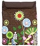Meitai Baby Carrier Carry Baby Sling Fashinable Pattern Design (Flower Garden)