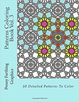 Patterns Coloring Book Vol. 3