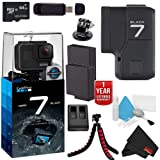 GoPro Hero7 Hero 7 Action Digital Video Camera Black Advanced Bundle (Color: Black, Tamaño: Advanced)