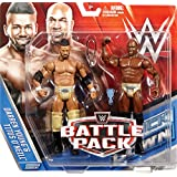 DARREN YOUNG & TITUS O'NEIL (PRIME TIME PLAYERS) - WWE BATTLE PACKS 39 WWE TOY WRESTLING ACTION FIGURE 2-PACKS