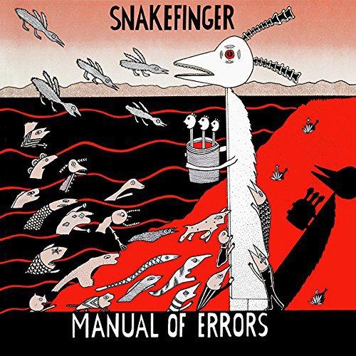 CD : Snakefinger - Manual Of Errors (CD)