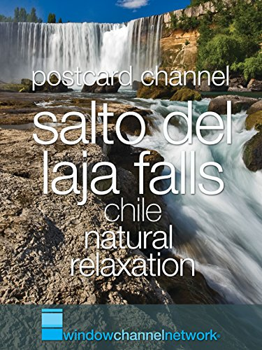Salto del Laja Falls Chile, nature relaxation