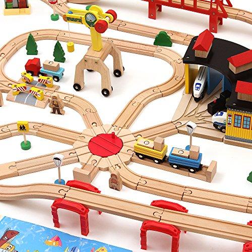 brio wooden train set instructions