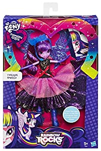 My Little Pony Equestria Girls Rainbow Rocks Deluxe Dress Twilight Sparkle Doll