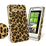 Femeto Yellow Leopard Fur Back Cover Case for HTC Radar HTC Radar Case Cover