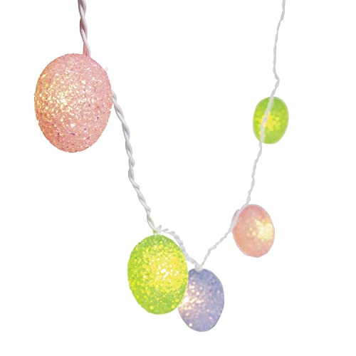 Plastic Easter Eggs Light String