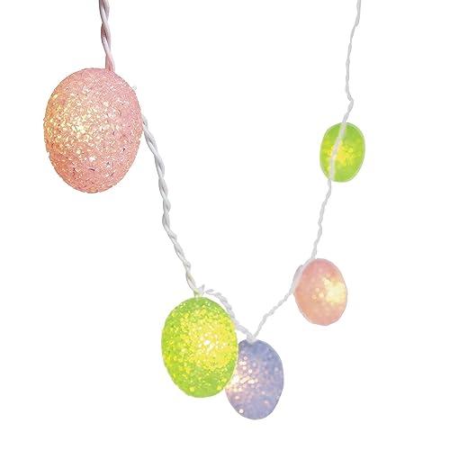 Plastic Easter Eggs Light String