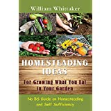 Homesteading Ideas For Growing What You Eat In Your Garden: No BS Guide on Homesteading and Self Sufficiency