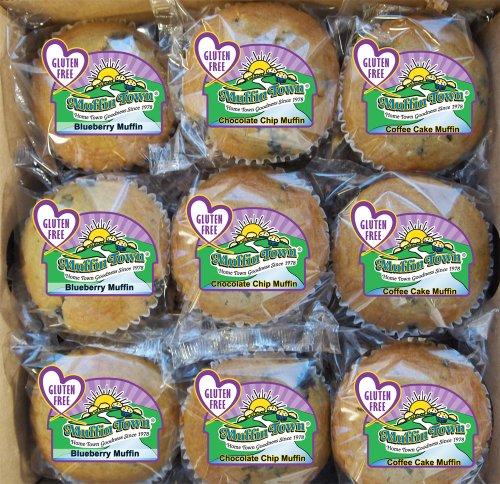 Gluten Free Muffins 3 Oz. (9 Per Box)