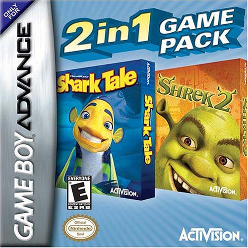 Shrek2/Shark Tale Bundle - Game Boy Advance (Game Boy Advance Video Movies compare prices)