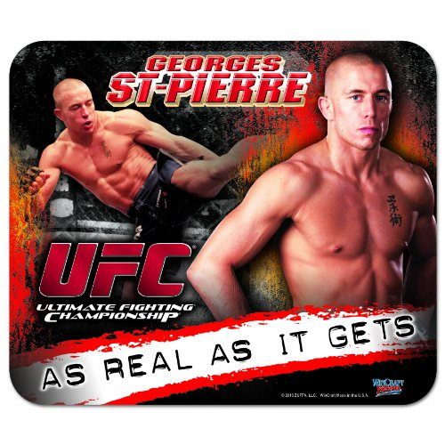 UFC Mixed Martial Arts George St-Pierre Mouse Pad