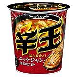 ポッカサッポロ 辛王 ユッケジャンスープ 1食×6個