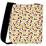 Snoogg gloss candy pattern Womens Carry Around Cross Body Tote Handbag Sling Bags