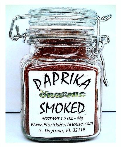Smoked Hungarian Paprika 1.5 oz. (42g) - Organic