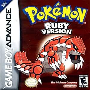 Pokémon Ruby (GBA) [import anglais]
