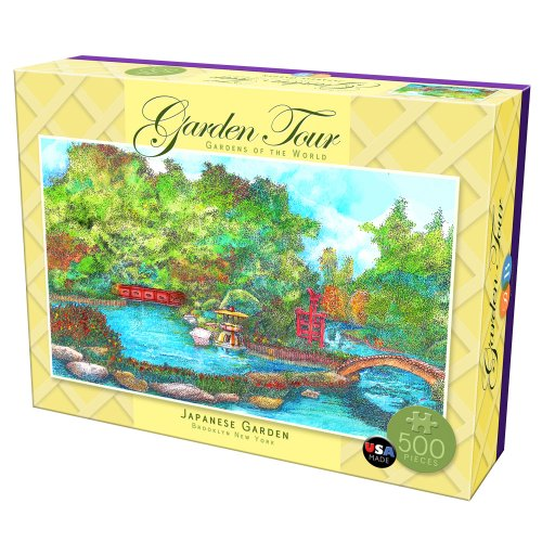 DB & Company Japanese Garden Tour Puzzle (500-Piece)