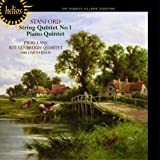 STANFORD. String Quintet, Piano Quintet. Vanbrugh Quartet, Lane