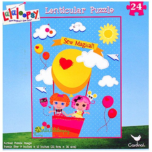 Lalaloopsy 24-Piece Lenticular Puzzle [Sew Magical!]