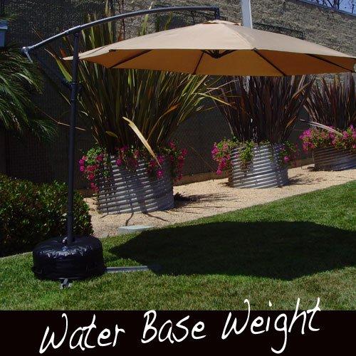 Offset Umbrella Base Stand Weight   Works Also For Market Umbrella (BLACK)  Umbrella Stand. U201c