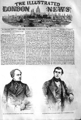 1852 Solicitor-General Kelly Attorney-General Thesiger
