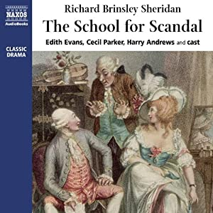 The School for Scandal | [Richard Sheridan]